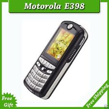 ORIGINAL Motorola E398 Black 100% UNLOCKED Cellular Phone GSM 2017 Warranty FREE