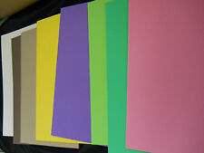 """4 pieces 1/4"""" (6mm) EVA FOAM SHEETS 12""""X18"""" - Grey or write your colors in note."""