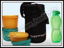 TUPPERWARE EXECUTIVE LUNCH BOX WITH TUPPERWARE 500 ML WATER BOTTLE (BEST OFFER)