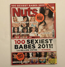 NUTS MAGAZINE - DECEMBER 2011 | 100 SEXIEST BABES | LUCY PINDER | RARE ISSUE