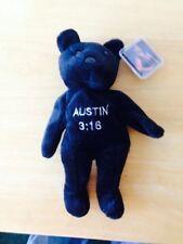Wwf Wwe Attitude Bear Stone Cold Steve Austin (Black)