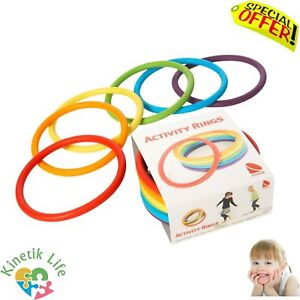 Sensory Activity Rings Toys Autism Special Needs Motor Skills Activity Therapy