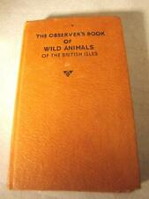 OBSERVERS BOOK OF WILD ANIMALS OF THE BRITISH ISLES 1968 FREEPOST UK