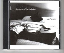 (HP930) Monica & The Explosion, Less Frenetic - 2016 CD