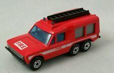 Matchbox Range Rover Carmichael Commando Fire Lesney England