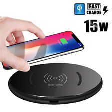 15W FAST Wireless Charger Charging Pad For Huawei Mate 20 Pro Samsung S10 Plus +