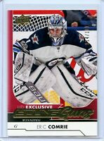 2017-18 Upper Deck Exclusives #476 Eric Comrie YG  14/100