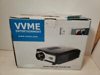 VVME ENTERTAINMENT HOME THEATER PROJECTOR!!!