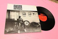 CLIFTON CHENIER LP LOUISIANA BLUES ORIG USA '70 ARHOOLLE EX+ TOOOPPP JAZZ BLUES