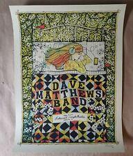 Dave Matthews Band DMB Poster 5/28/16 Lakewood Amphitheatre Atlanta GA