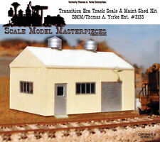 1940/60's Transition Pre-Fab Track Scale Maintenance Shed Kit Fine Yorke HOn30