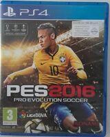 Pes 2016. Pro Evolution Soccer. Ps4. Fisico. Pal Es
