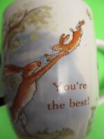 YOU'RE THE BEST  from Guess How much I love you Nutbrown Hare bunny COFFEE MUG
