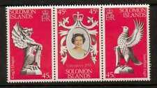 Islas Salomón SG357/9 1978 coronación estampillada sin montar o nunca montada