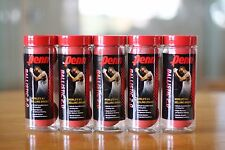 PENN Racquetball RED BALLS 5  3-ball CANS, a total of 15 balls, BALLISTIC RED