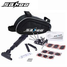 16 pcs Set Bike Tyre Repair Bicycle Tool Puncture Stand Pump Socket Kit Bag
