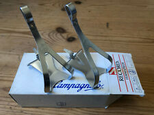 NOS Campagnolo C Record Alloy Toeclips Medium, New In Box