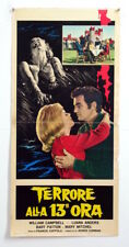 italy playbill-DEMENTIA 13-FRANCIS FORD COPPOLA-THRILLER-A80-29