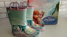 Western Chief Girls'   Frozen Elsa & Anna Rain Boot