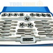 24 pc Alloy Tool Steel  UNF (AF - Imperial )- UNC TAP AND DIE SET in Metal Case