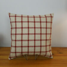 Cushion Cover Red Check Next Fabric  16x16 LilleyBee