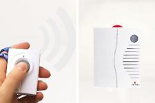 Personenruf -System mit mobilem Funk-Empfänger: ++ laut