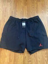 Air Jordan 23 Engineered  Shorts Black Crimson CW2665 010 Men 3XL Large Nike