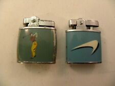 Lot of 2 Green Cigarette Lighters (One Judson and One Omega)