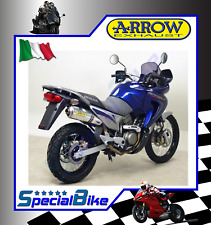 HONDA XL 650 V TRANSALP 2000 > 2007 SCARICO ARROW RACE TECH ALLUMINIO COPPA INOX