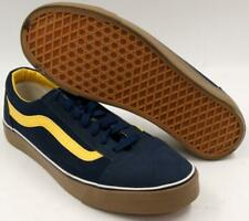 Vans Vansked Old Skool Skate Shoes Classic Blue/Yellow Canvas Men's  44/10.5 M