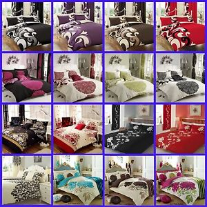 Duvet Cover Bedding Set with Pillowcases Size Single Double King Sale Prices