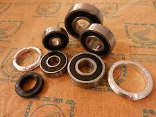 Honda cb750 four k0-k2-k6 roulement de roue verschlußring set Bearing retainer Dust seal