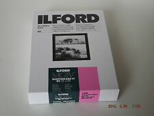 ILFORD MGIV RC DELUXE 5X7 GLOSSY 100 DARKROOM PAPER **FREE UK 1ST P&P**