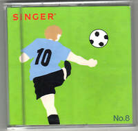 Singer XL-100, 150 or 1000 Embroidery Card #8, Sports and Hobbies