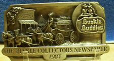 Buckle Collecctors Newsletter Buckle Buddies 1983 [386/500]