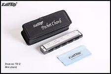 EASTTOP T2-2 mini chord harmonica, pocket chord good chord quality