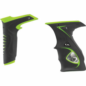 Dye DM14/15 Sticky Slim grip Kit - Black / Lime Green - Paintball