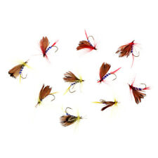 10x Lifelike Nymph Flies Floating Fly Fishing Flies Bass Salmon Trout Flies