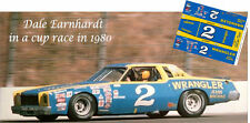 CD_2901 #2 Dale Earnhardt Wrangler 1975  Monte Carlo  1:64 Scale Decals