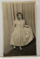 RPPC Actress Theater Dancer Stage Actor Real Photo Postcard G6