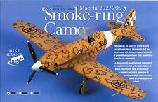Mike Grant Decals 1/72 ITALIAN SMOKE RING CAMOUFLAGE for MACCHI FIGHTERS