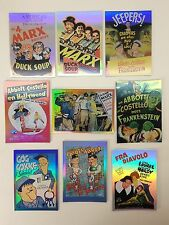MOVIE POSTERS STARS MONSTERS & COMEDY Breygent Complete Chase Card Set VC1-VC9