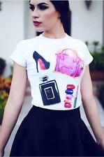 SUMMER TOPS GLEN COCO No 4 T-shirt Top Tee Tumblr Fashion Woman Swags Homies Dop