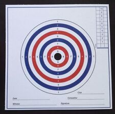 SALE. AIR RIFLE PISTOL TARGETS 100No. 280gsm Card. (Not cheap paper targets)...