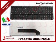 Tastiera Notebook ASUS F52 K50 K51 K60 K61 K62 K70 K72 X5DIN (NERA-ISOLA) con FR