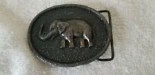 Buckle Elephant Belt