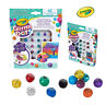 Crayola Kids Childrens Mouldable Glitter Dots Assorted Colours Creative Artwork