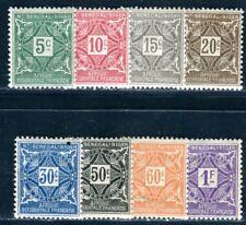 HAUT SENEGAL NIGER PORTO 1915 Yvert TT 8-15 * SATZ (09200