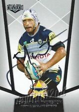 Autograph Johnathan Thurston NRL & Rugby League Trading Cards