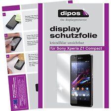 Sony Xperia Z1 Compact Lámina protector de pantalla claro Dipos